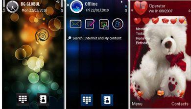 دانلود ۳ تم بسیار زیبا برای گوشی های نوکیا سری ۶۰ ویرایش ۵ – S60v5
